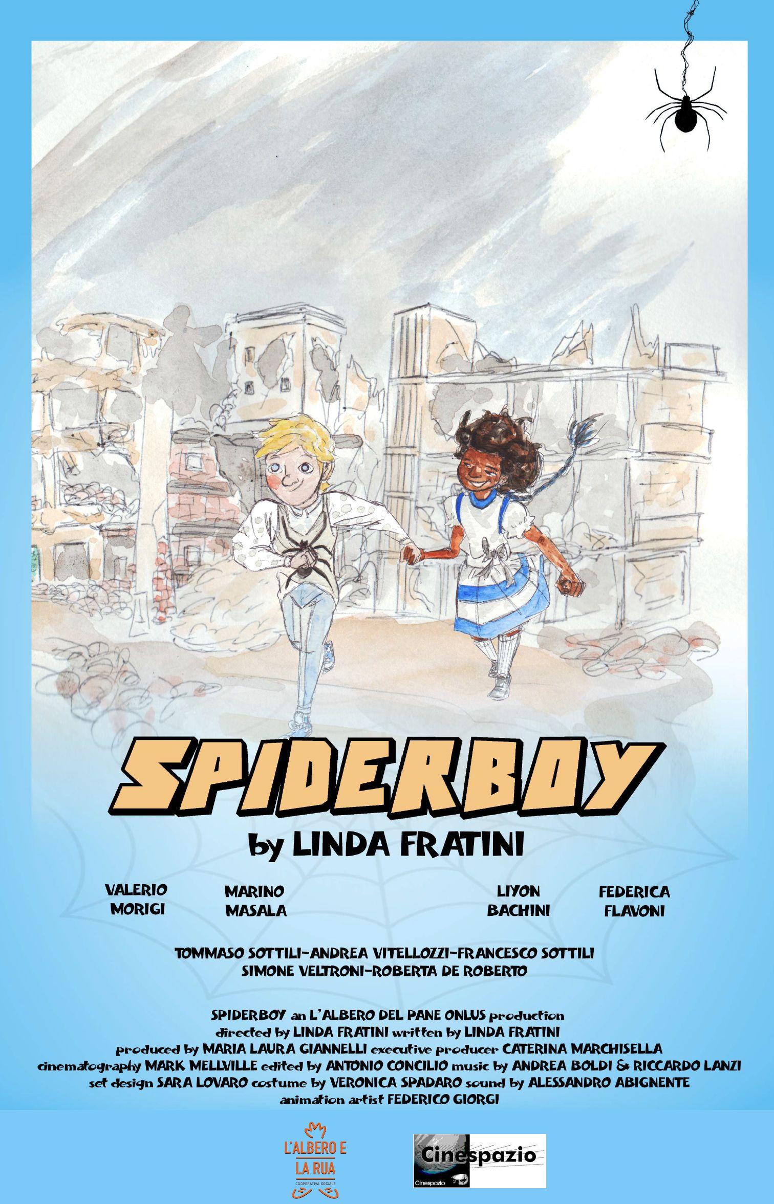 spiderboy locandina