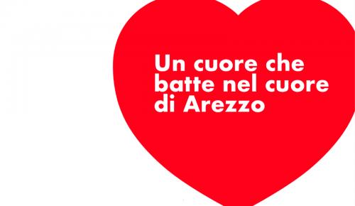Un cuore che batte nel cuore di Arezzo