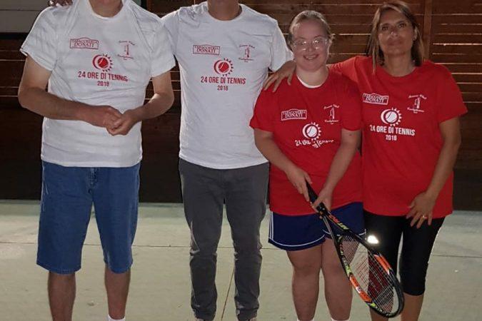 24 ore di Tennis al TC Castiglionese: anche Koinè presente!