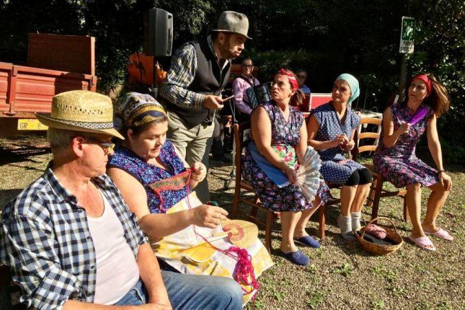 Un pomeriggio di teatro in vernacolo aretino alla Rsa di Pescaiola
