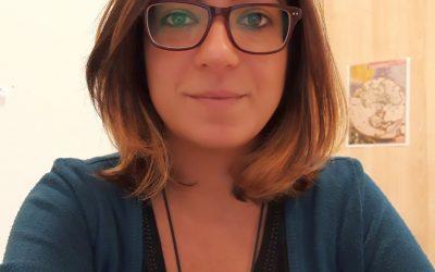 Eleonora, interprete della lingua dei segni nei Centri per l'impiego