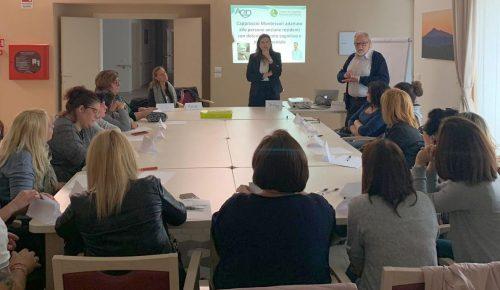 Metodo Montessori applicato agli anziani: Koinè lo sperimenta per prima in Italia